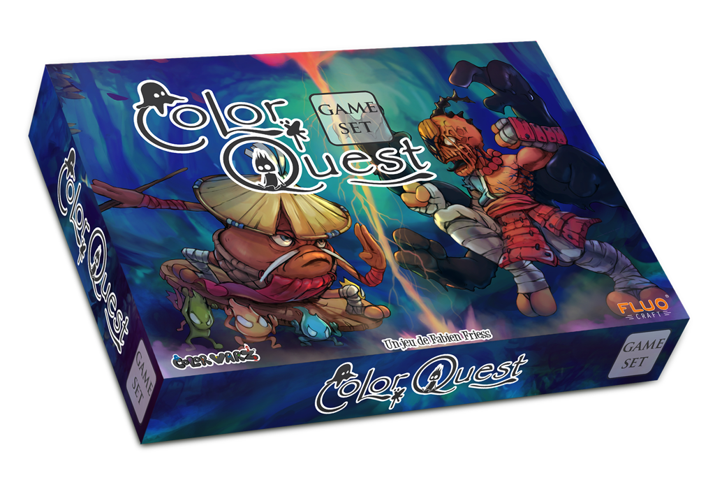 Color Quest box